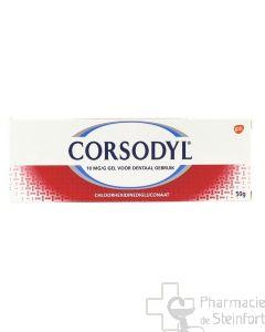 CORSODYL GEL DENTAIRE 50 G