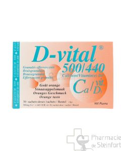D VITAL 500/440  30 SACHETS
