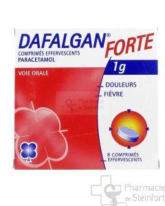 DAFALGAN FORTE 1 G 8 COMPRIMES EFFERVESCENTS