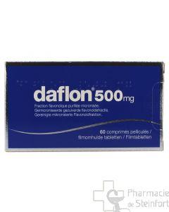 DAFLON 500 MG 60 COMPRIMES
