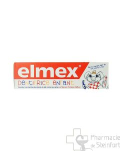 ELMEX DENTIFRICE ENFANTS 50 ML