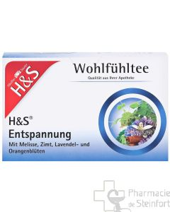 H+S ENTSPANNUNG RELAXATION 20 SACHETS