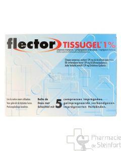 FLECTOR TISSUGEL 5 COMPRESSES