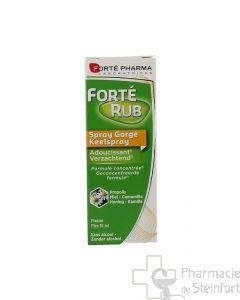 FORTERUB Gorge Adoucissant Propolis SPRAY 15 ML