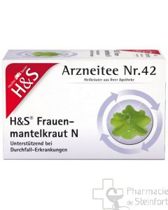 H+S FRAUENMANTELKRAUT 20 SACHETS N°42