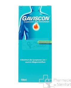 GAVISCON MENTHE SUSPENSION BUVABLE 500 ML