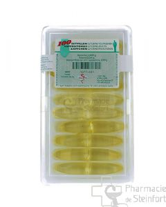 GLYCERINE SUPPOSITOIRES ADULTES 100 PIECES FAGRON