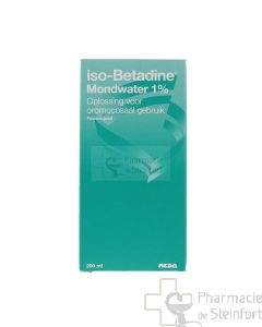 ISOBETADINE BUCCAL 1% SOLUTION 200 ML