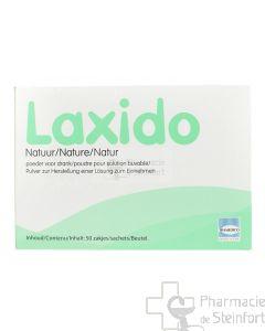 LAXIDO NATURAL POUDRE 50 SACHETS