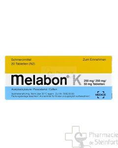 MELABON K 20 COMPRIMES