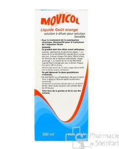 MOVICOL LIQUIDE ORANGE 500 ML