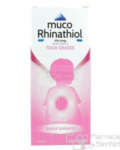 MUCORHINATHIOL ENFANT 2% SIROP 200 ML