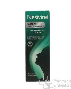 NESIVINE sine conservans 0,05 % 1 Spray 10ML