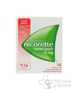 NICORETTE INVISIBLE 10 MG 14 PATCH