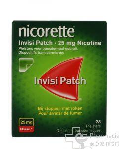 NICORETTE INVISI Patch dispositif transdermique 25 MG 28 PATCH
