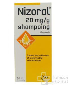 NIZORAL 2% SHAMPOOING Pellicules et dermatite séborrhéique 100 ML