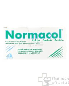 NORMACOL GRANULES 30 SACHETS 10 G