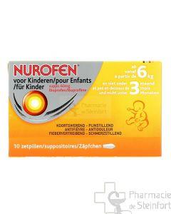 NUROFEN ENFANT 60 MG 10 SUPPOSITOIRES