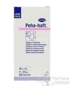 HARTMANN PEHA HAFT LATEXFREE BANDE 10 CM x 4 M