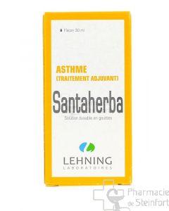 SANTA HERBA SOLUTION ASTHME LEHNING 30 ML