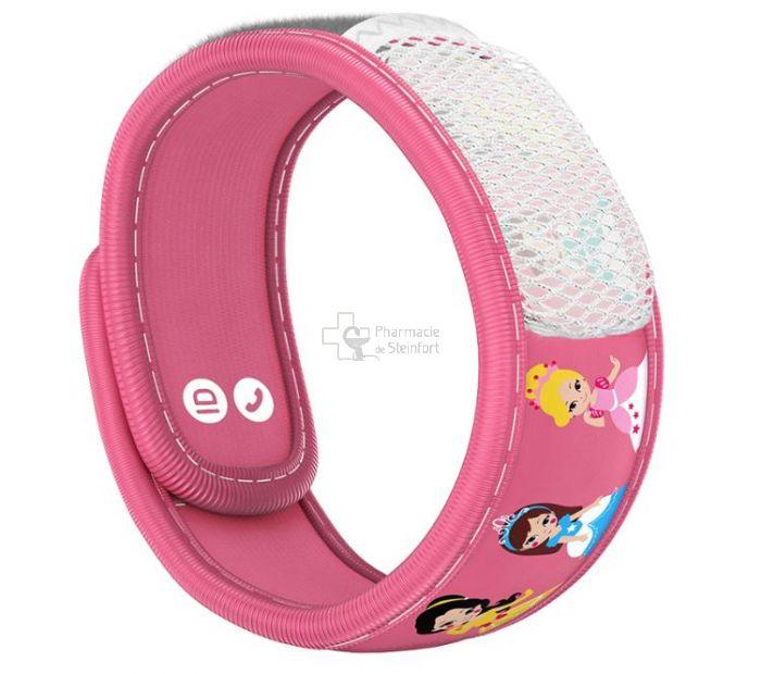 Para Kito Mückenschutz Armband Kids rosa-Prinzessin